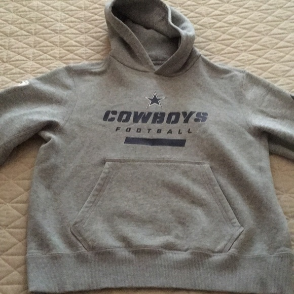 hot sale online 90503 2ab99 Dallas cowboys sweatshirt youth boys 10-12